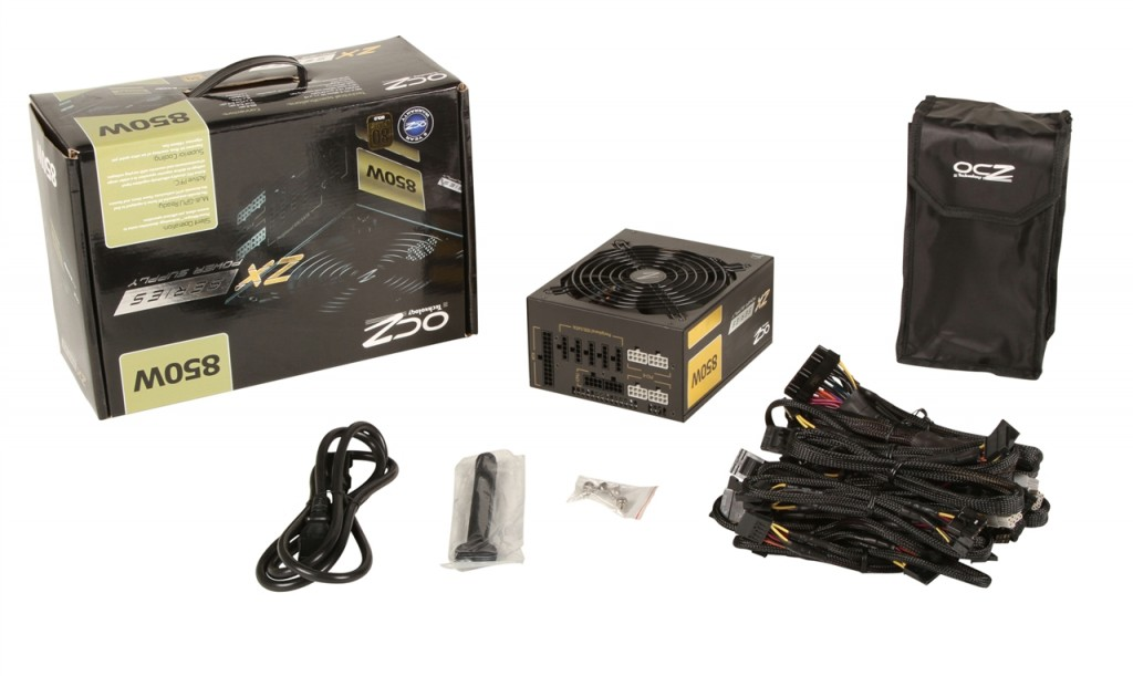 OCZ ZX Series 850 Watt ATX Modular Power Supply