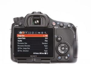 Sony A57 LCD
