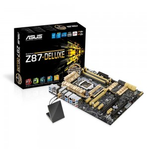 ASUS Z87 Deluxe Socket LGA 1150 ATX Intel Motherboard