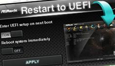 Asrock Restart to UEFI