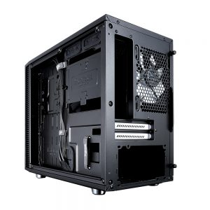 Fractal Design S review - rear - Custompcguide.net