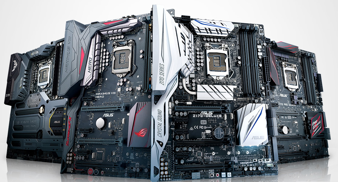 The Differences between All Asus Mainstream Z170 Motherboards