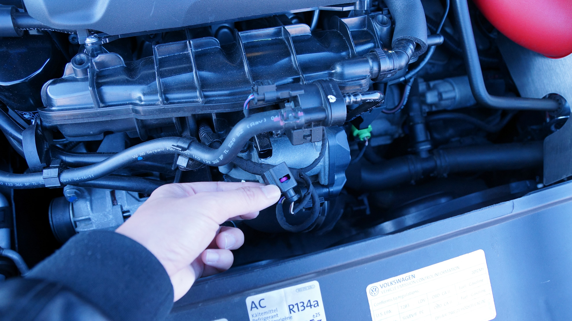 Diy Cleaning Ait Sensor On Your Volkswagen Eos To Fix Bad