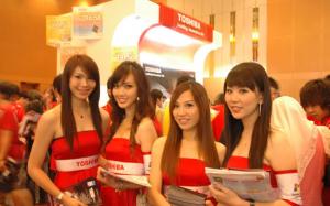 toshiba-girls