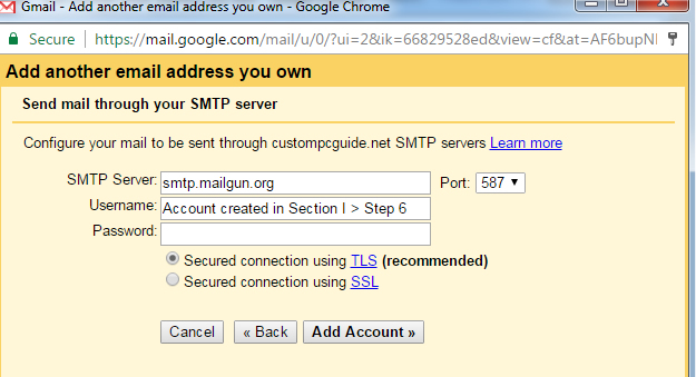 How To Send And Receive Emails Using Your Own Domain With Cloudways - Make own email
