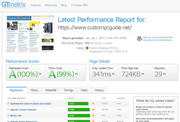 Wordpress Page Speed and Performance Optimization Course - 2019 Revised Edition with New Tips