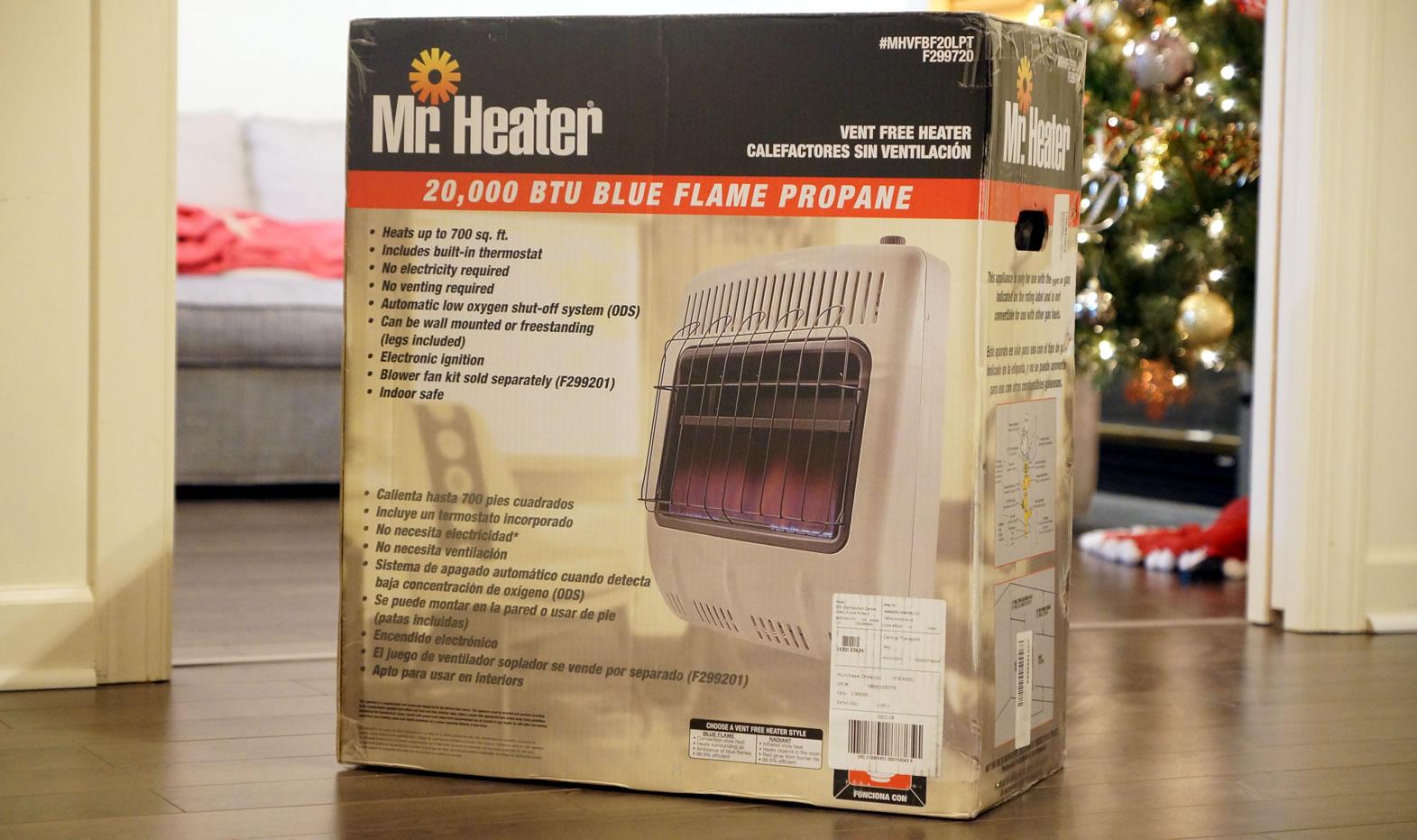 Vent Free Liquid Propane Heater For Garage Cheaper To